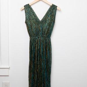 Vintage sparkly 70's disco mermaid dress